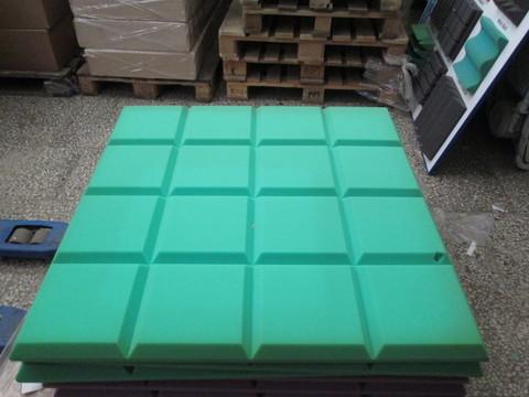 Акустический поролон Echoton Grid зеленый - 3 шт.
