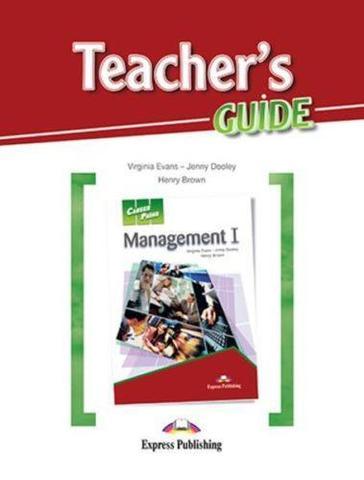 Management 1 (esp). Teacher's Guide. Книга для учителя