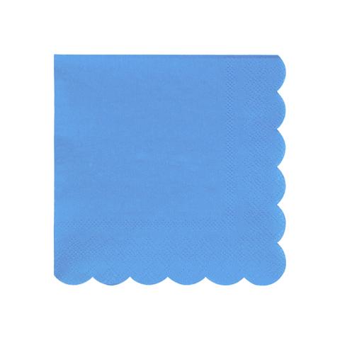 Салфетки голубые маленькие