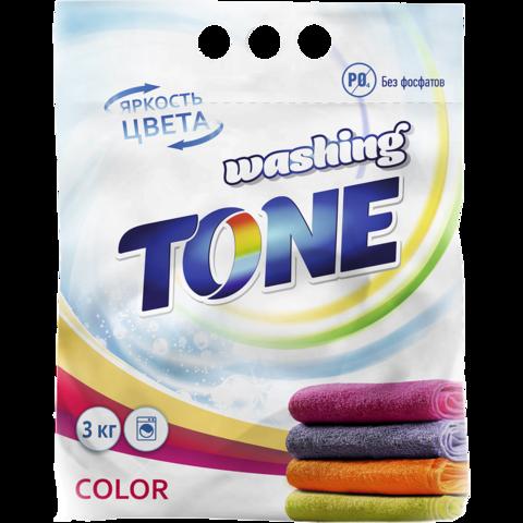 Sellwin Pro  Washing Tone Стиральный порошок Color 3кг
