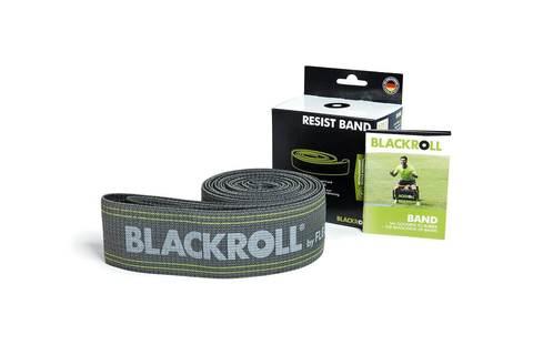 Эспандер-лента текстильная BLACKROLL® RESIST BAND 190 см (тяжелое сопротивление)
