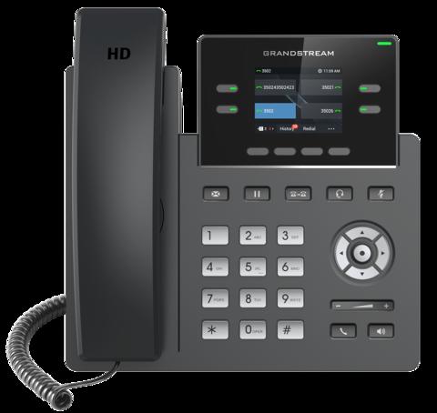 Grandstream GRP2612P - IP телефон (PoE, блок питания не входит в комплект)