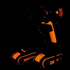 Винтоверт аккумуляторный WORX BL WX292, 20В, бесщеточный, 2Ач x2, кейс