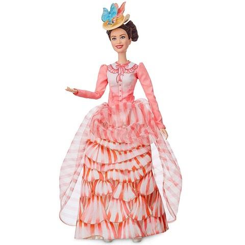 Барби Дисней Мэри Поппинс в розовом платье