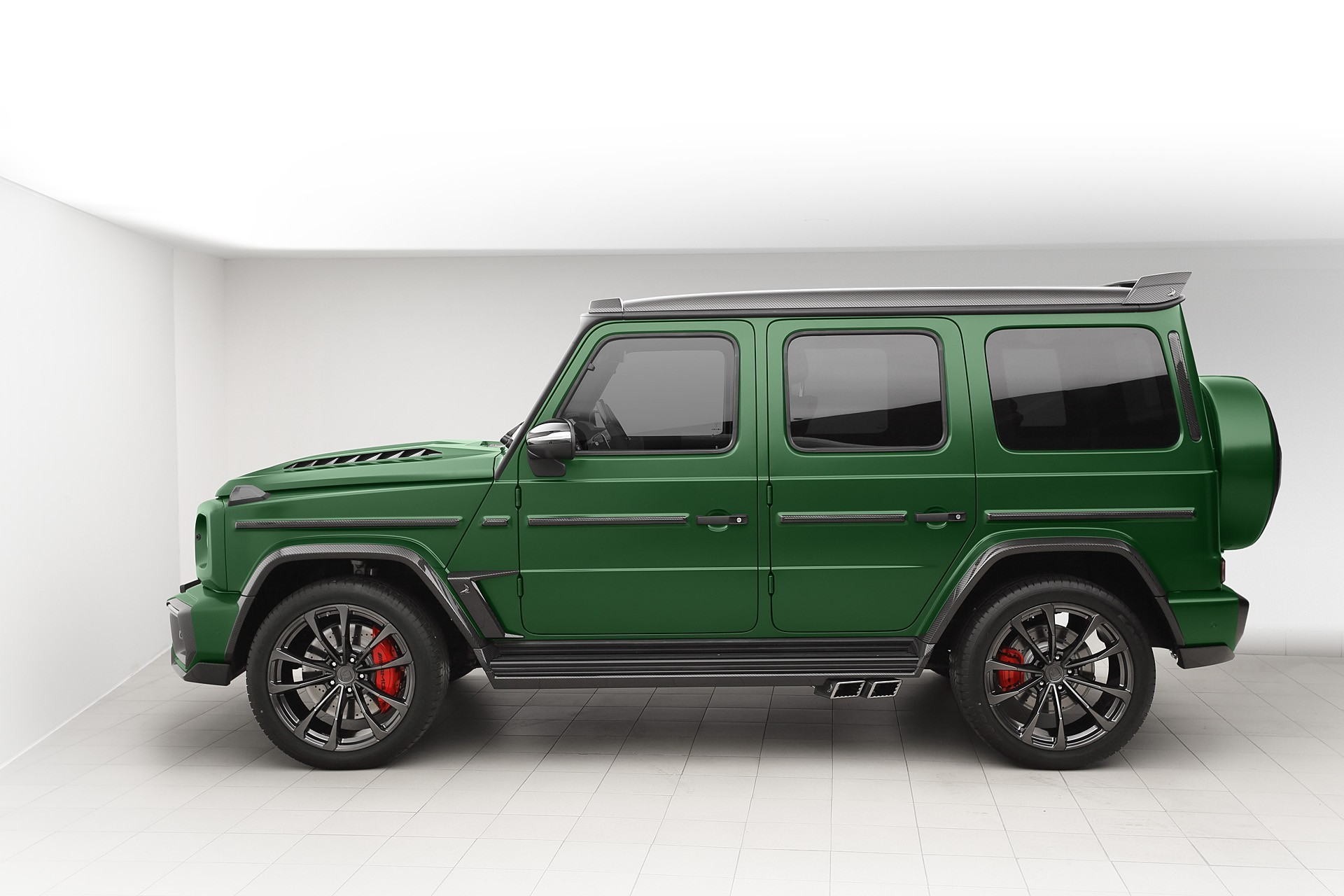 Topcar Design body kit for Mercedes  G-class (W463) INFERNO
