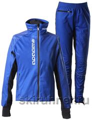 Элитный лыжный костюм Noname ClubLine Sewed Softshell Blue