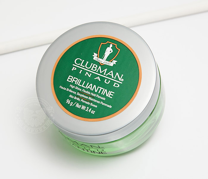 RAZ28001 Гель-бриллиантин для укладки волос Clubman Brilliantine (100 мл) фото 03