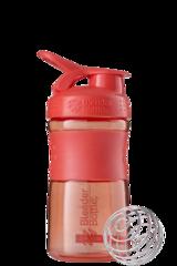 BlenderBottle SportMixer, Универсальная Спортивная бутылка-шейкер с венчиком.  Coral-коралловый 591 мл