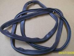 Резиновый уплотнитель дверцы духовки плиты Беко 455100004