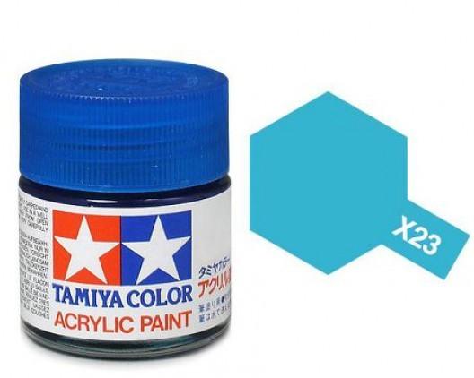 Tamiya Акрил X-23 Краска Tamiya, Прозрачный Синий (Clear Blue), акрил 10мл import_files_b9_b9307eea5a8411e4bc9550465d8a474f_e3fbec255b5511e4b26b002643f9dbb0.jpg
