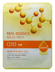 Тканевая маска с коэнзимом Juno Jluna Real Essence Mask Pack, Q10
