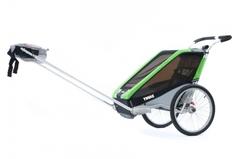 Многофункциональная детская коляска, Thule, Chariot Cheetah2, 2-мест. + ПОДАРОК