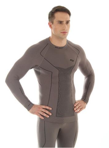 Термобелье рубашка мужская Brubeck Thermo (LS11670) шоколад