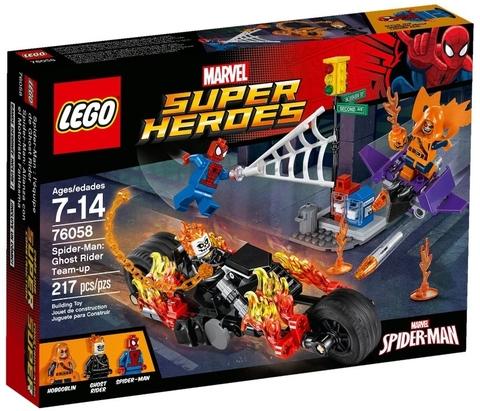 LEGO Super Heroes: Человек-паук союз с Призрачным гонщиком 76058