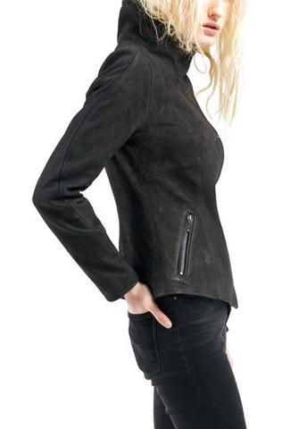 Женская куртка из нубука