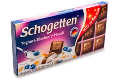 Альпийский молочный шоколад с начинкой из обезжиренного йогурта, 100г