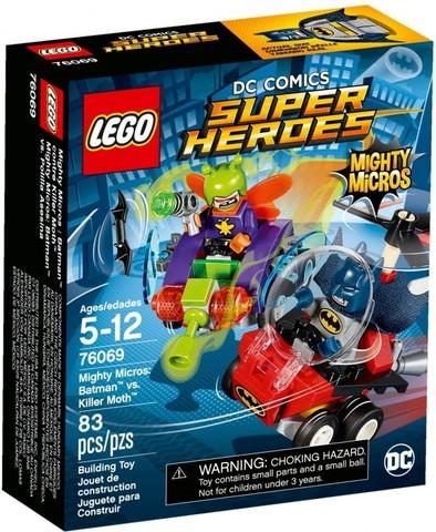 LEGO Super Heroes: Бэтмен против Мотылька-убийцы 76069 — Mighty Micros: Batman vs. Killer Moth — Лего Супергерои ДиСи