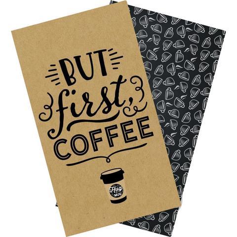 Набор внутренних блоков для тревелбука  - 11х21 см-Echo Park Traveler's Notebook - Coffee & Friends Daily Calendar- 2 шт
