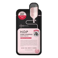 Mediheal H.D.P Pore-Stamping Black Mask - Тканевая маска листовая угольная