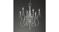 Italamp 720 6 Turquoise NK — Потолочный подвесной светильник
