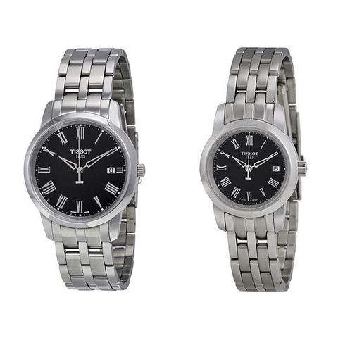 Купить Парные часы TISSOT Classic Dream: T033.410.11.053.01 и T033.210.11.053.00 по доступной цене