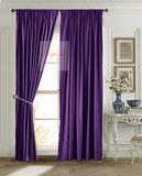 Готовая штора Ницца (фиолетовый)