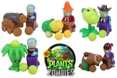 Растения против Зомби стреляющие игрушки с подсветкой и звуком