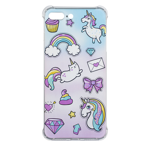 Чехол для IPhone 7 Plus/8 Plus Cupcake Unicorn