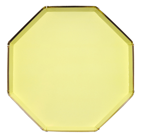 Тарелки большие,желтые