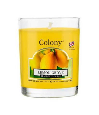 Свеча ароматическая лампадная Лимонный сад, Wax Lyrical