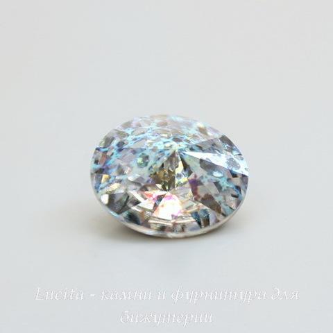 1122 Rivoli Ювелирные стразы Сваровски Crystal White Patina (14 мм) (2)