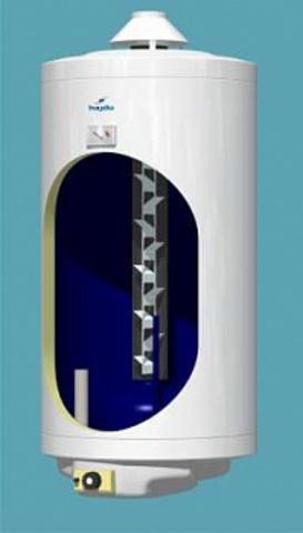 Бойлер (Водонагреватель) Газовый C Дымоходом Hajdu Gb 150.1