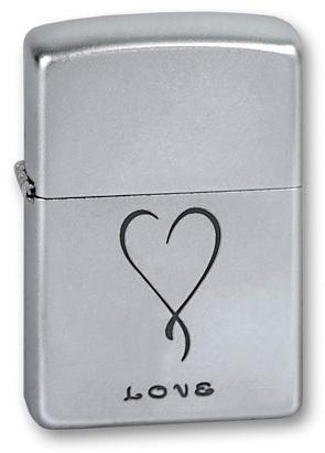 Зажигалка Zippo №205 Love