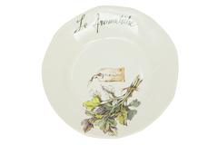 "HERBS Salad plate ( mod. SP231 )   Тарелка для салата ""ТРАВЫ"""