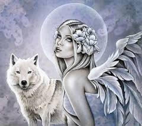 Картина раскраска по номерам 40x50 Девушка с крыльями и ...
