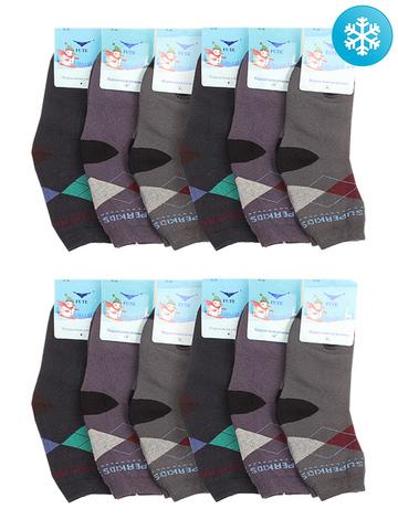 3025 носки махровые детские (12 шт.)