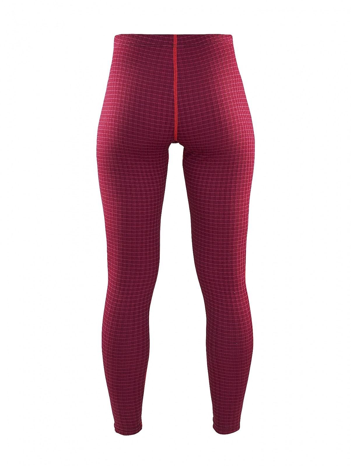 Женское термобелье кальсоны крафт Warm Wool Red (1903725-2482)