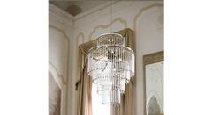 Italamp 712 50 Satin C Sw Moka-GoldenSh — Потолочный подвесной светильник