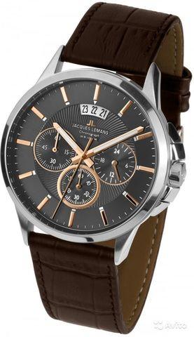 Купить Наручные часы Jacques Lemans 1-1542H по доступной цене