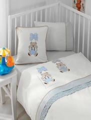 Детское постельное белье BEBE голубой Gelin home Турция