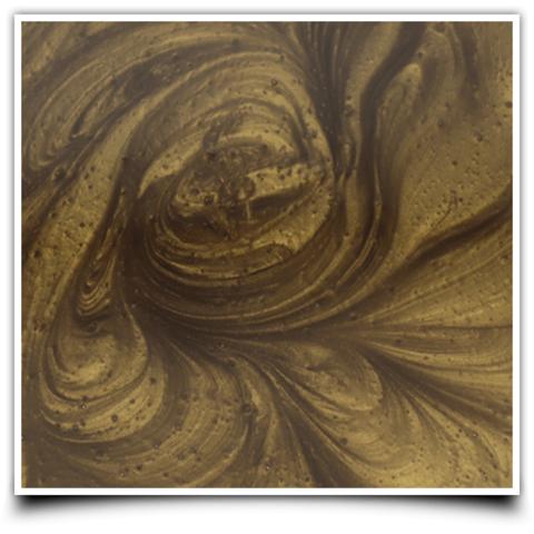 Краситель для эпоксидной смолы цвет: бронза