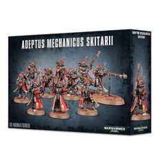 Adeptus Mechanicus Skitarii. Коробка
