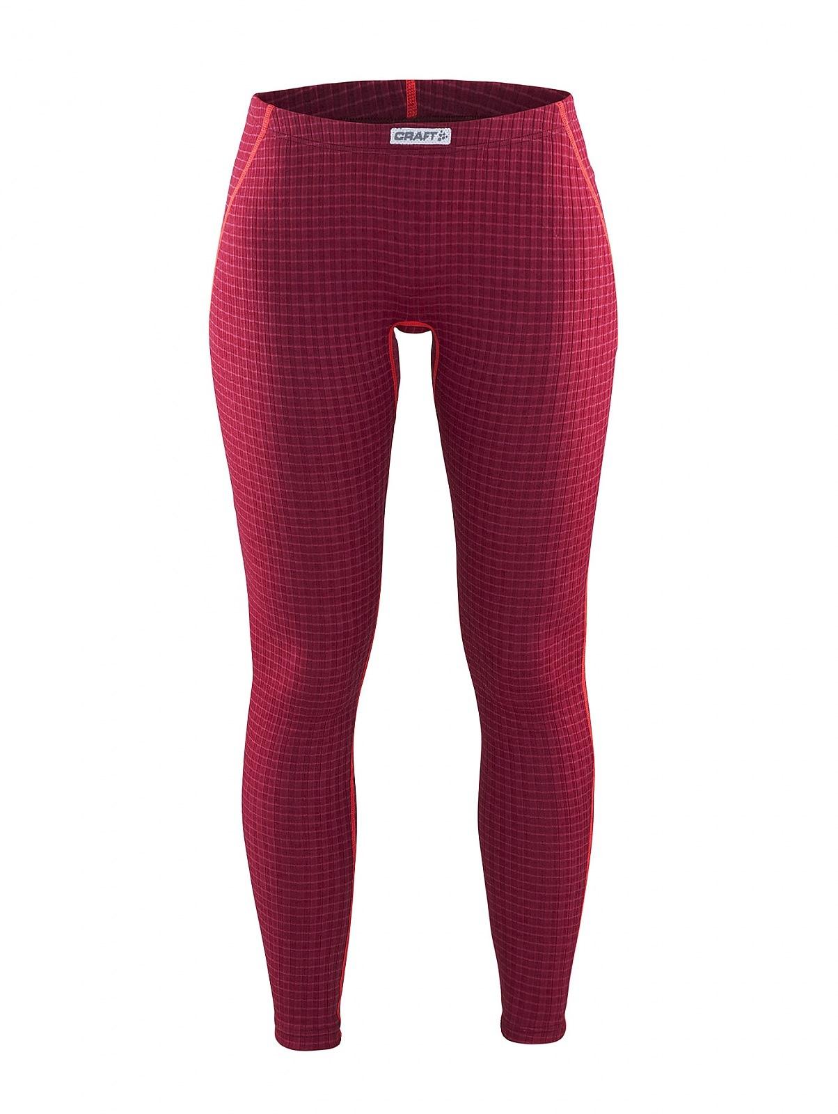 Женское термобелье кальсоны Craft Warm Wool Red (1903725-2482)