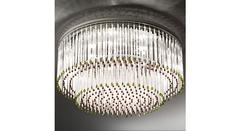 Italamp 713 60 Satin C Sw Moka-GoldenSh — Потолочный накладной светильник