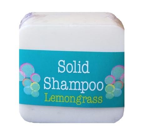 Твердый шампунь для волос с ароматом лимонника Elaia 125 гр.