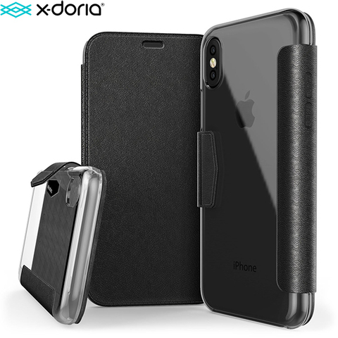 Чехол-книжка X-Doria Defense Engage Folio для iPhone X