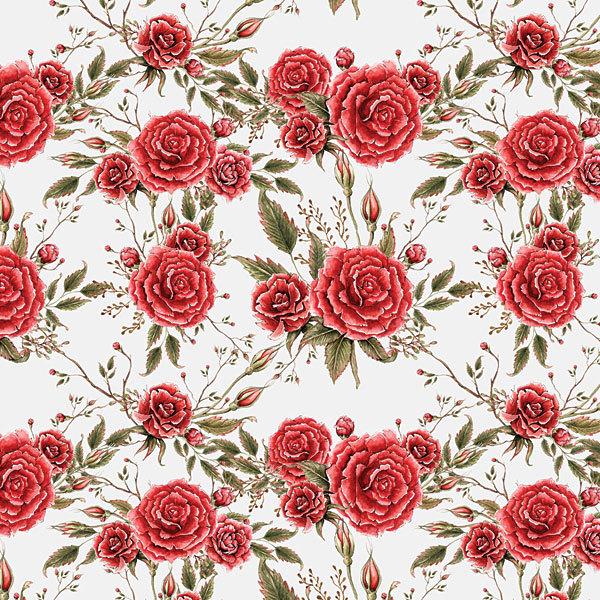 Этиклейка Красные розы