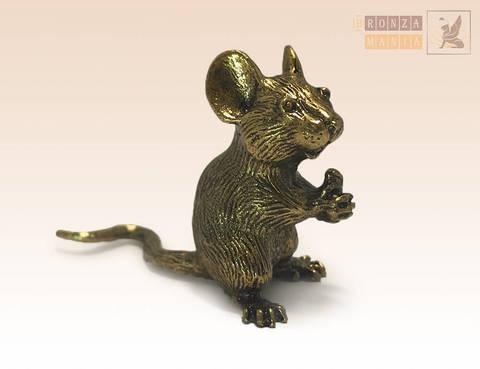 фигурка Мышь с орехом