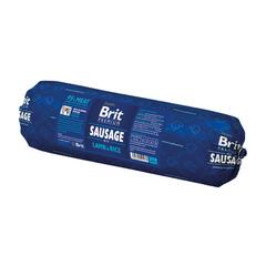 Brit Колбаса для собак Sausage with Lamb & Rice Ягненок с рисом, 800 г