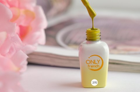 Гель-лак Only French, Yellow Touch №270, 7ml